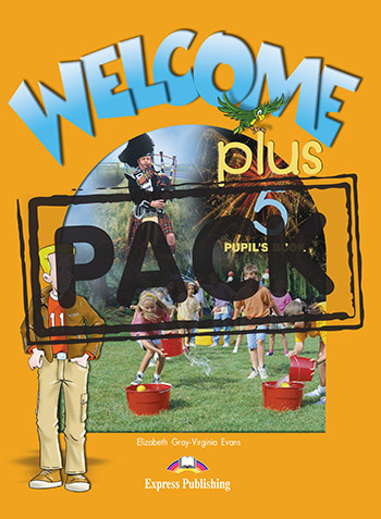 Welcome Plus 5  - Pupil's Book (+ Pupil's Audio CD)