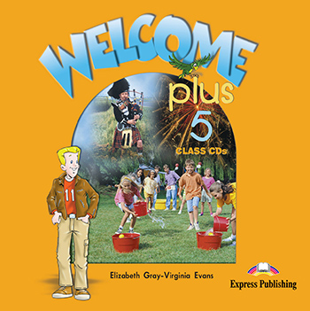 Welcome Plus 5 - Class Audio CDs (set of 2)