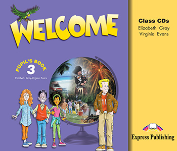 Welcome 3 - Class Audio CDs (set of 3)