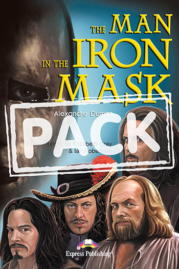 The Man in the Iron Mask - Reader (+ Activity Book & Audio CDs)