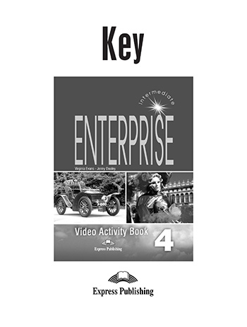 Enterprise 4 - Video Activity Book Key