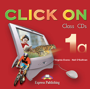 Click On 1a - Class Audio CDs (set of 2)