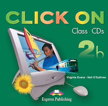 Click On 2b - Class Audio CDs (set of 2)