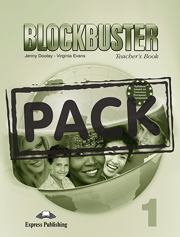 Blockbuster 1 - Teacher's Book (+ Board Games & Posters)