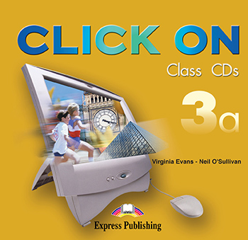 Click On 3a - Class Audio CDs (set of 2)