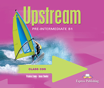 Upstream Pre-Intermediate B1 (1st Edition) - Class Audio CDs (set of 4)