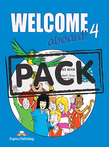Welcome Aboard 4 - Pupil's Book (+ Pupil's Audio CD)