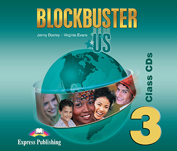 Blockbuster US 3 - Class Audio CDs (set of 4)