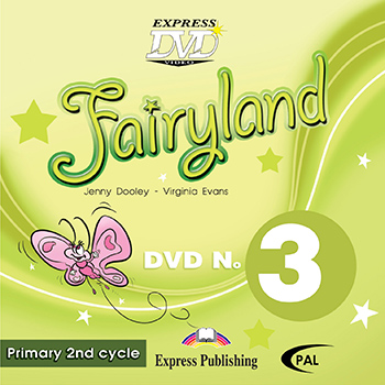 Fairyland 3 Primary 2nd Cycle - DVD Video PAL