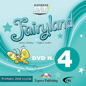 Fairyland 4 Primary 2nd Cycle - DVD Video PAL