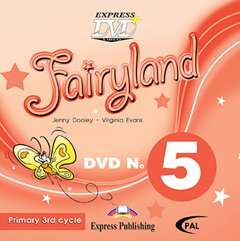 Fairyland 5 Primary 3rd Cycle - DVD Video PAL