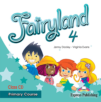 Fairyland 4 Primary Course - Class Audio CD