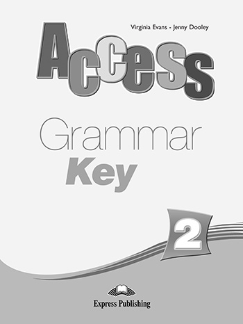 Access 2 - Grammar Book Key