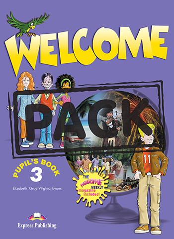 Welcome 3 - Pupil's Book (+ Pupil's Audio CD)