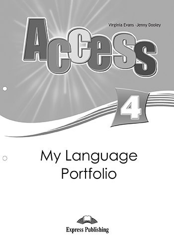 Access 4 - My Language Portfolio