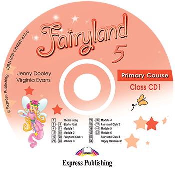 Fairyland 5 Primary Course - Class Audio CD CD1
