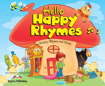 Hello Happy Rhymes - Story Book