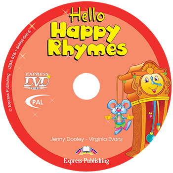 Hello Happy Rhymes - DVD PAL
