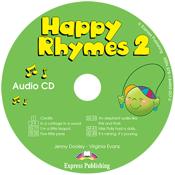 Happy Rhymes 2 - Audio CD