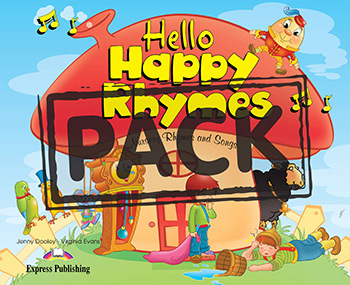 Hello Happy Rhymes - Story Book (+ Audio CD & DVD Video NTSC)