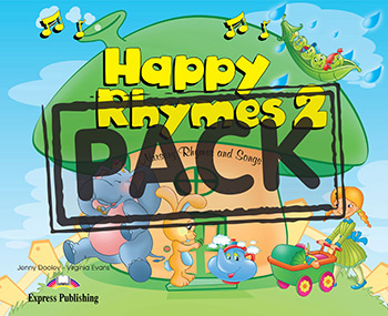 Happy Rhymes 2 - Story Book (+ Audio CD & DVD Video NTSC)