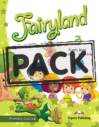 Fairyland 3 Primary Course - Pupil's Book (+ Pupil's Audio CD & DVD PAL)