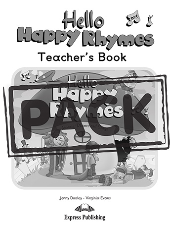 Hello Happy Rhymes - Teacher's Pack