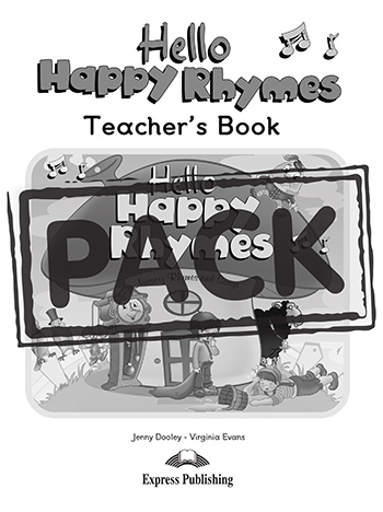 Hello Happy Rhymes - Teacher's Book (+ Story Book, Audio CD & DVD Video NTSC)