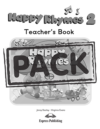 Happy Rhymes 2 - Teacher's Book (+ Story Book, Audio CD & DVD Video NTSC)