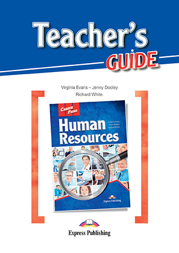 Career Paths: Human Resources - Teacher's Guide