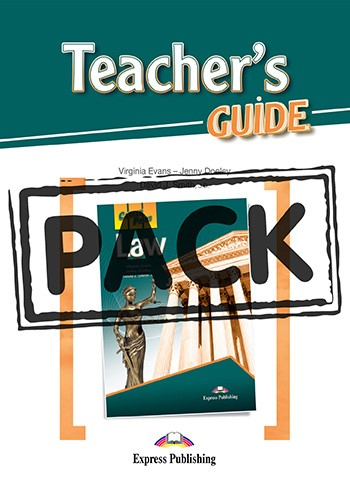 Career Paths: Law - Teacher's Pack