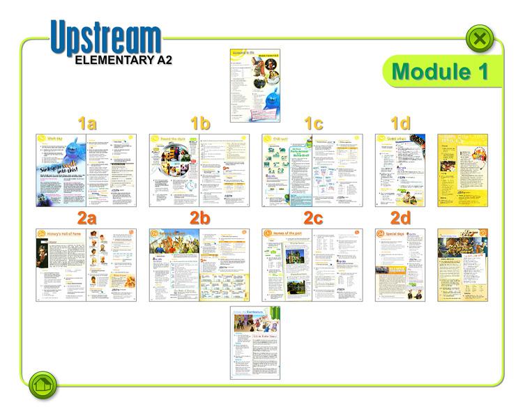 решебник upstream elementary